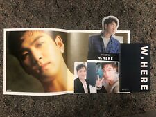 Nu'est W, Here BAEKHO 2 Official Photocards, Poster, Card Stand, Album Booklet