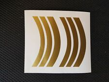 "Vintage ""SUPER GRIFTER""  MUDGUARD decals/sticker set (GOLD)"