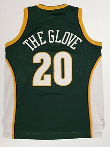 Vintage Adidas Gary Payton The Glove Seattle Supersonics NBA Jersey Men's M