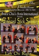 Arnis Advanced Stick Sparring Left on Right Dvd Chiu filipino martial arts