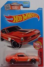 2016 Hot Wheels THEN AND NOW 2/10 '68 Shelby GT500 105/250 (Orange Version)