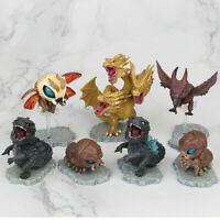 Godzilla Movie King of the Monster Cute mini Action Figures 7 Pcs Set Toys Gift