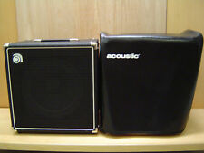 AMPEG BA-112 1X12 50W ELECTRIC BASS GUITAR AMPLIFIER & ACOUSTIC AMP COVER