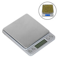 0.1g/0.01g Digital Jewelry Scales Coin Gram Balance Weight Precise Scale Pocket