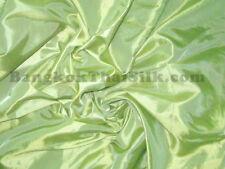 "PERIDOT GREEN 60"" TAFFETA FAUX SILK FABRIC DRAPE DRESS CRAFT TABLE CLOTH"