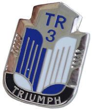 Triumph TR3 logo lapel pin