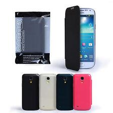 Caseflex Samsung Galaxy S4 Mini I9190 Pu Cuero Batería Trasera Funda Y Film