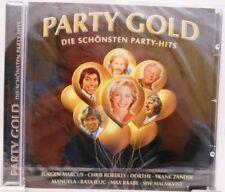 Party Gold + CD + Die schönsten deutschen Feten Schlager mit Stimmungsgarantie +