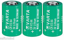 "Brand New ""3"" Varta CR1/2AA 3V Lithium Battery CR14250 LS14250, Made in Germany"
