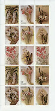 More details for belize christmas stamps 1987 mnh orchids cattleya orchid flowers 2x 14v m/s