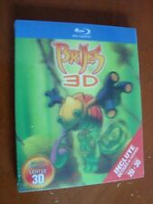 BRIJES blu Ray 3D includes 3D glasses and the 2D version of the movie 1disc only