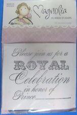 Magnolia Royal Celebration Rubber Stamp