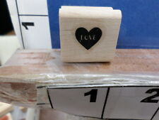 stampin up saying love heart conversation valentine rubber stamp 7y