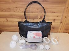 Dr. Brown's Simplisse Double Electric Breast Pump lot w/Bag & Charger; Free Ship