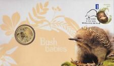 2013 $1 COIN AUSTRALIA ECHIDNA BUSH BABIES PNC UNCIRCULATED LIMITED EDITION