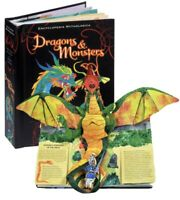 Monsters and Dragons Pop Up Book by Matthew Reinhart 1st Edition New
