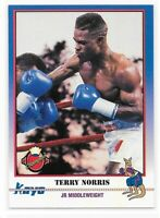 1991 Kayo The National Anaheim TERRY NORRIS Boxing Promo Card #20
