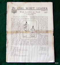 GIRL SCOUT - 1934 GIRL SCOUT LEADER - NOVEMBER