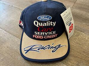 NWT 88 Dale Jarrett Ford Quality Care Nascar Racing Snapback Hat Robert Yates
