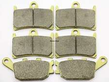 Front Rear Brake Pads For Yamaha YZF R6S YZF R6 SV SW SX SY 2006 2007 2008 2009