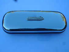 Canal boat Barge Narrowboat brand new chrome glasses case great gift! Christmas