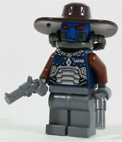 LEGO STAR WARS BOUNTY HUNTER DUROS CAD BANE MINIFIGURE - MADE OF GENUINE LEGO