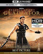 GLADIATOR - 4K ULTRA HD / BLU-RAY - NEW - RUSSELL CROWE