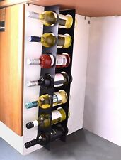 Kitchen Under Cabinet Space Filler Wine Rack 7 Bottle Holder Unit Shelf Modern