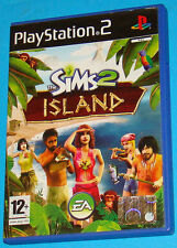 The Sims 2 Island - Sony Playstation 2 PS2 - PAL
