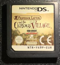 Professeur Layton et l'étrange village - Nintendo DS - DEMO VERSION - NFR