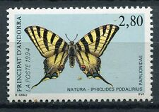 TIMBRE ANDORRE FRANCE NEUF N° 451  **  PAPILLON IPHICIDES PODALIRIUS