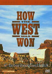 How the West Was Won (1962) - James Stewart,John Wayne,Gregory Peck (Region All)