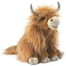 Highland Cow Puppet 3167 for 2020 USA Folkmanis Puppets