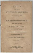 1846 Rum Seller vs. Temperance Newspaper -Libel / Wilbar v. Williams, Taunton MA