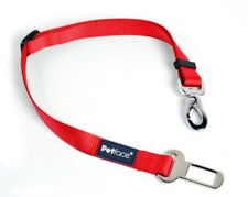 Dog Car Seatbelt Clip - Harness, Car Restraint, Travel, Red, Petface, Safety