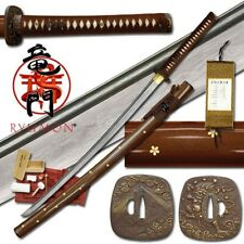 Ryumon Practical Katana RY-3041 Japanese Samurai Sword Dragon Katana