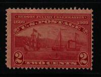 1909  Sc 372  Hudson Fulton MNH  CV $21