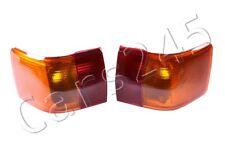 Rear Tail Lights Turn Signal Indicators Red/Orange SET L+R For AUDI 80 1991-1995