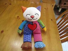 Kitty By Internationally Acclaimed Artist Romero Britto Popplush Coco Cat,Enesco