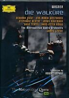 Wagner Die Walkure DVD NEW Deborah Voigh Metropolitn Opera Orchestra Levine