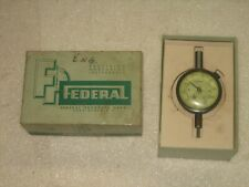 Federal Dial Indicator 2 Face