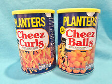 2018 PLANTERS CHEEZ CURLS / CHEEZ BALLS CHEESE SNACK - NEW RELEASE exp 5/19