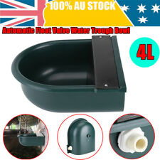 4L Automatic Float Valve Water Trough Bowl Waterer Drinking For Cat Sheep Dog AU