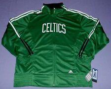 Boston Celtics Warm Up On Court Jacket Large Ladies Adidas NBA