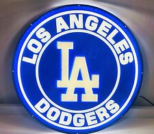 "New Los Angeles Dodgers 3D Led Neon Light Sign 16"" Beer Bar Wall Decor"