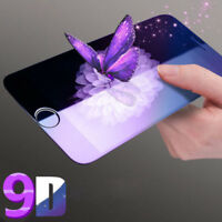 9D Anti-Blue Ray Tempered Glass Screen Protector For iPhone Xs XR Xs Max 8 Plus