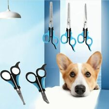 Stainless Steel Pets Dogs Grooming Scissors Up Down Curved Shears Sharp Edge