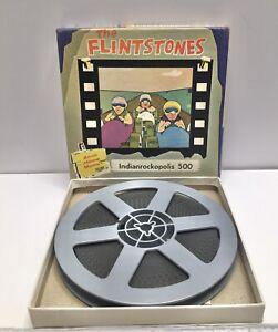 Hanna Barbera The Flintstones Indianrockopolis 500 Racing 8mm Silent Home Movie