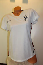 Nike Womens France Soccer National Team Jersey - White - Large