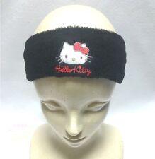 SANRIO HELLO KITTY KAWAII Stretchable Hair Turban Pile Cloth Band One Size BLK